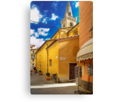 Lerici - San Rocco Church Canvas Print