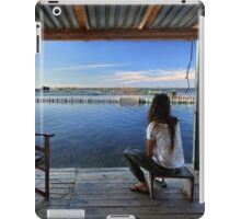 Peaceful life in the lagoon of Messolonghi iPad Case/Skin