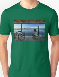 Peaceful life in the lagoon of Messolonghi Unisex T-Shirt