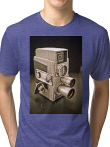 Vintage Camera I ~ Series  Tri-blend T-Shirt