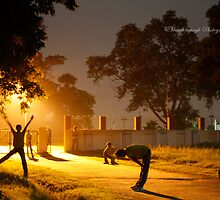 I am omnipresent...:) by Manik Singh
