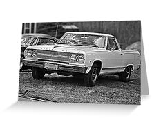 1965 El Camino Greeting Card