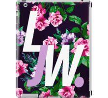 LJW Floral Logo iPad Case/Skin