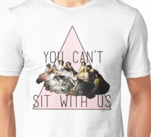 """You Can't Sit With Us"" Empress Eugenie surrounded by her Ladies-in-Waiting Unisex T-Shirt"