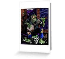 ARKHAM COUNTY BLUES Greeting Card