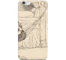 Five Mice in a Mouse Trap Laura Elisabeth Howe Richards and Kate Greenaway 1881 0116 Story of the Wind iPhone Case/Skin