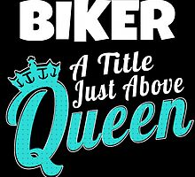 BIKER A TITEL JUST ABOVE QUEEN by yuantees
