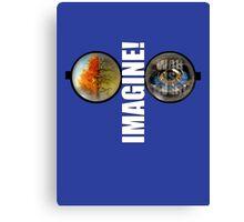 John Lennon - Imagine - Give Peace a Chance - War is over Canvas Print