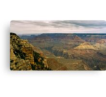 The Grand Canyon Series  - 8 To The West Canvas Print