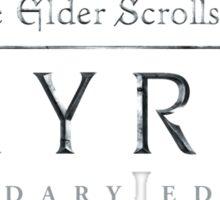 "TES - Skyrim ""Legendaru Edition"" Sticker"