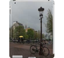 Amsterdam - the Yellow Umbrella iPad Case/Skin