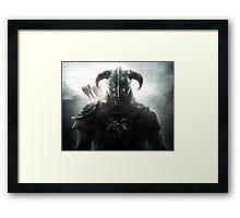 TES - Skyrim Dawnguard Framed Print
