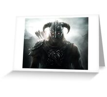 TES - Skyrim Dawnguard Greeting Card