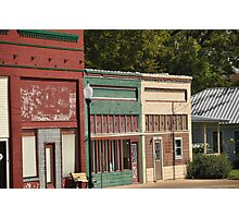 Small town downtown Photographic Print