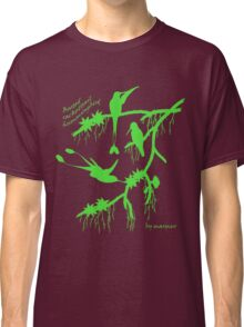 Green booted rackettail hummingbird Classic T-Shirt