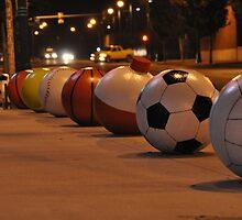Fedex Forum Sports Balls by Rena Neal