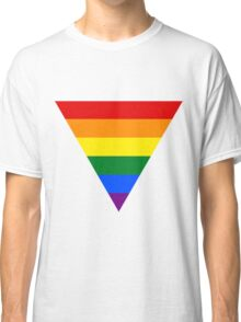 LGBT triangle flag Classic T-Shirt