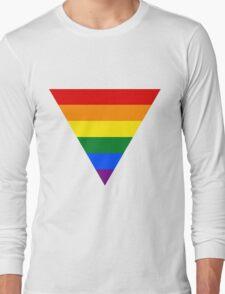 LGBT triangle flag Long Sleeve T-Shirt