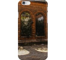 Of Courtyards and Elegant Arches  iPhone Case/Skin