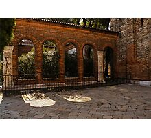 Of Courtyards and Elegant Arches  Photographic Print