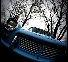 Triumph Herald by Jackie Barefield