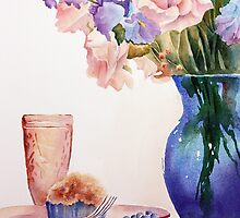 The blue Vase by Bobbi Price