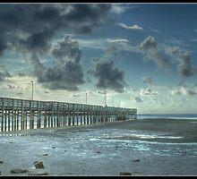 Anclote Fishing Pier Tarpon Spring Florida by Eric Snyder