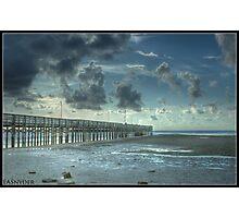 Anclote Fishing Pier Tarpon Spring Florida Photographic Print