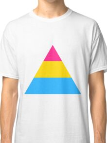 Pansexual triangle flag Classic T-Shirt