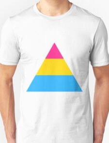 Pansexual triangle flag T-Shirt