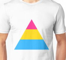 Pansexual triangle flag Unisex T-Shirt
