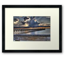 Heather N Kristy.... Framed Print