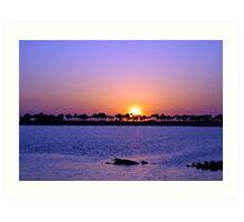 Fred Howard Beach-Tarpon Springs Florida Art Print