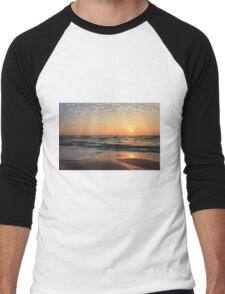 Sunset at the Beach Men's Baseball ¾ T-Shirt