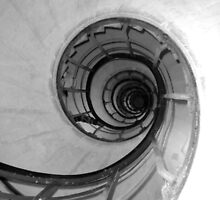 Spiral Stairs by Josephine Pugh