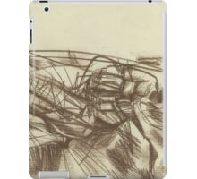 abstract empty landscape iPad Case/Skin