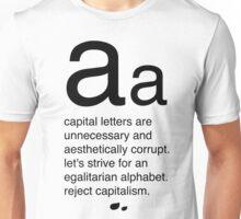 reject capitalism Unisex T-Shirt