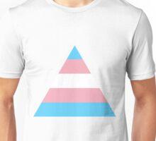 Transgender triangle flag Unisex T-Shirt