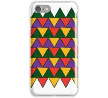 bright coloured triangles iPhone Case/Skin