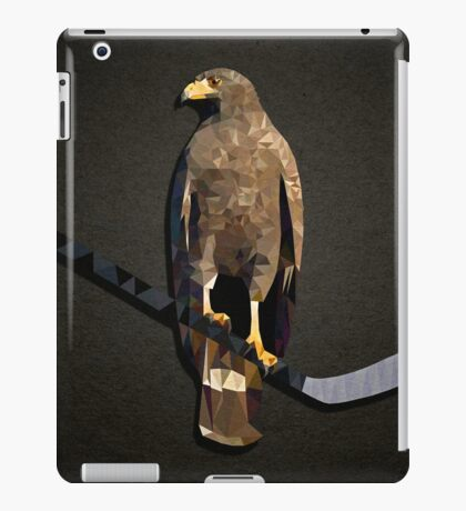 Polyhawk on Black iPad Case/Skin