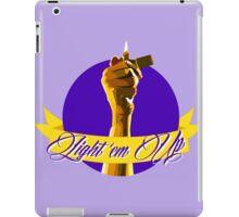 Light 'em Up iPad Case/Skin