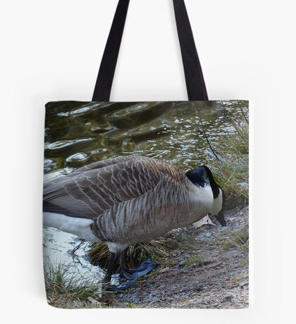Water World - Mother Goose Grazing Tote Bag