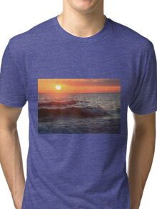 Sun and Waves Tri-blend T-Shirt