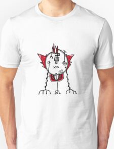 Alien Robot Hand Draw Illustration T-Shirt