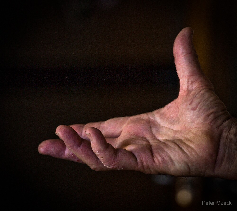 Hand by Peter Maeck