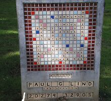 Crossword Headstone by AuntieBarbie