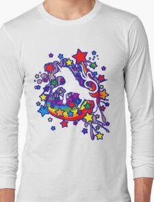 Unicorn_Gallop Long Sleeve T-Shirt