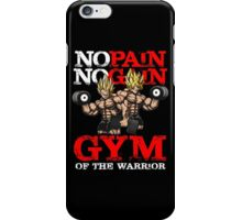 gym of the warrior iPhone Case/Skin