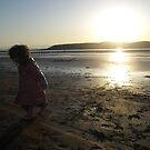 Girl on beach 2 by RoseMae