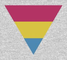Pansexual triangle flag One Piece - Long Sleeve